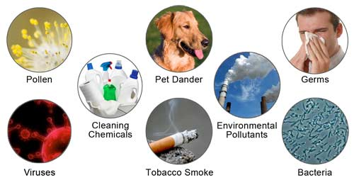 Title:Sources of Air Pollutants Description: Harmful air pollutants affecting Indoor air quality